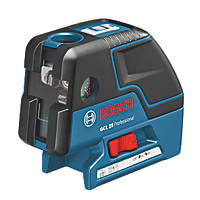 Bosch GCL 25 Professional Self-Levelling Cross Line Laser