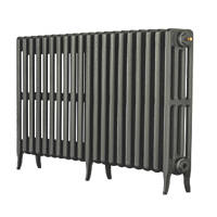 Arroll  4-Column Cast Iron Radiator  660 x 1114mm