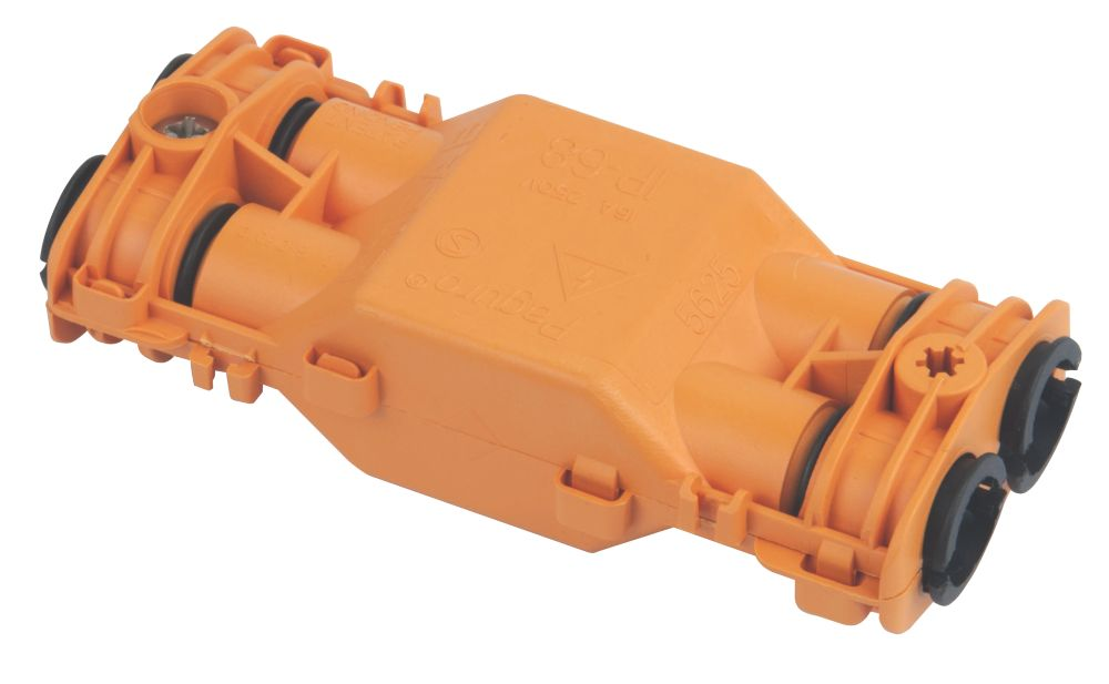 IP68 4-Cable 3-Pole Gel Filled Cable Connector