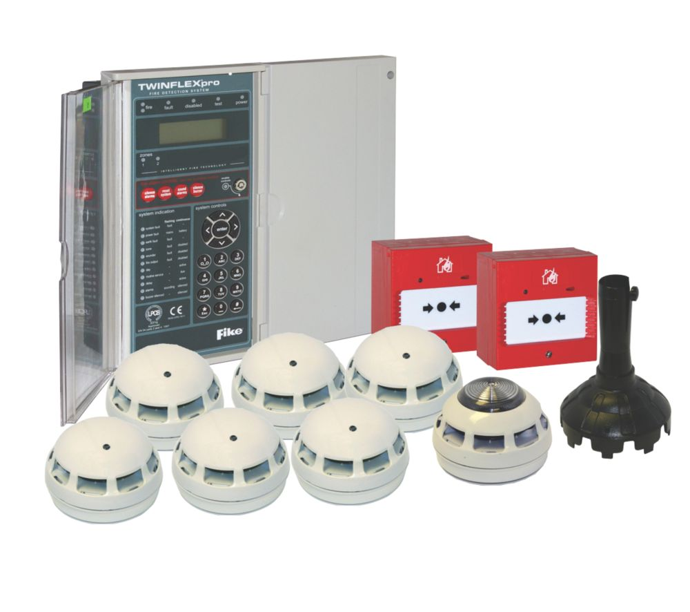 Tate 2-Zone 2-Wire Fire Alarm Kit