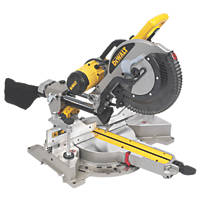 DeWalt DWS780-GB 305mm Double-Bevel Compound Sliding Mitre Saw 240V