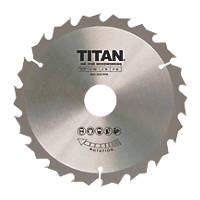 Titan TCT Circular Saw Blade 18T 165 x 16/20/30mm