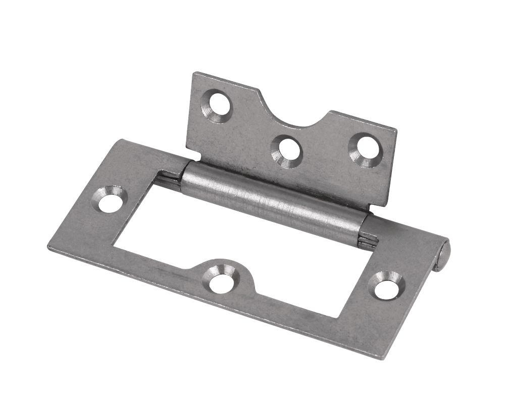 Flush Hinge Self Colour 76 x 33 x 1.5mm Pack of 20