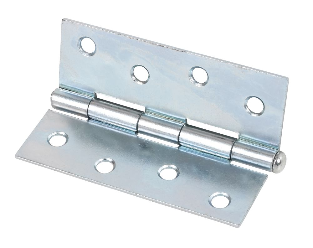 Steel Loose Pin Hinges Zinc Plated 102 x 40mm Pack of 20