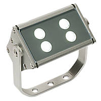 Saxby Gleam LED Floodlight 8W Silver