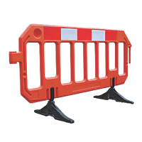 Melba Swintex  Gate Traffic Barrier Orange