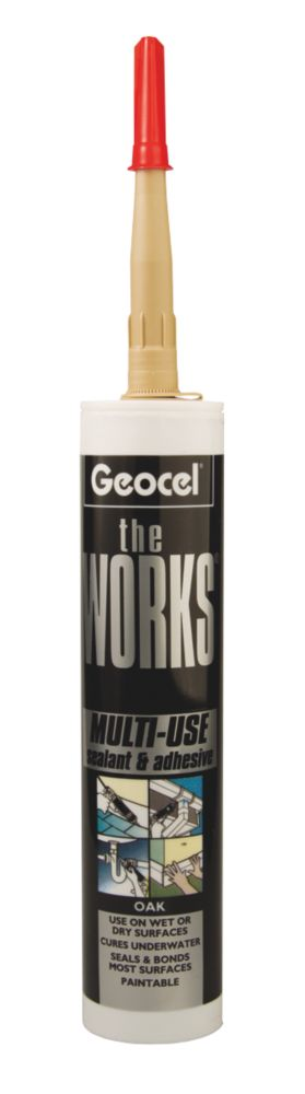 The Works Sealant & Adhesive Oak 290ml