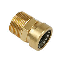 """Yorkshire Tectite Sprint Male Couplers 22mm x ¾"""""""