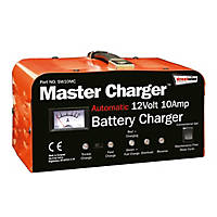 Streetwize SW10MC 10A Heavy Duty Metal-Cased Battery Charger 12V