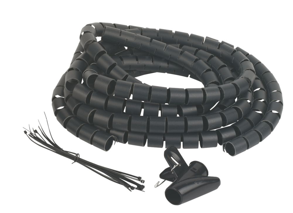 Philex Cable Tidy Black 2 x 2m