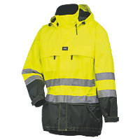 "Helly Hansen Potsdam Hi-Vis Shell Jacket Yellow/Charcoal Large 42½"" Chest"