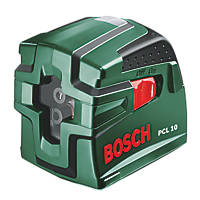 Bosch PCL10 Self-Levelling Cross Line Laser Level & Tripod
