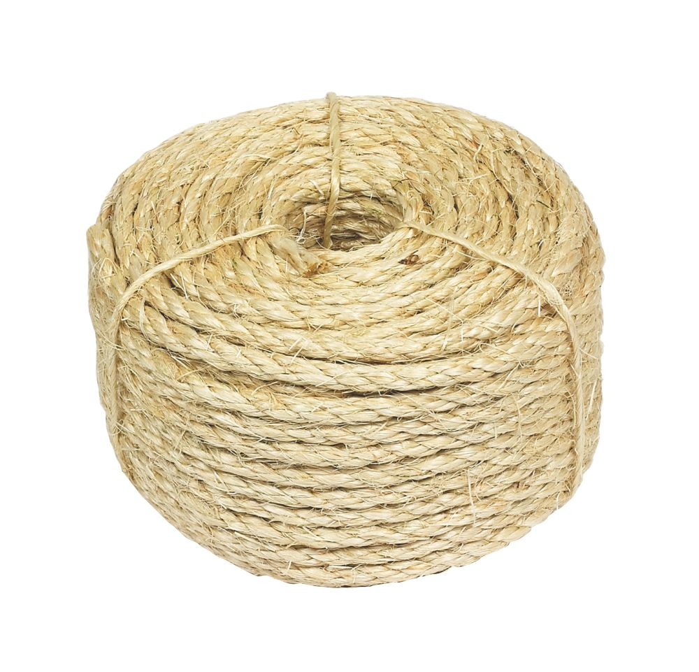 Sisal Rope Natural 6mm x 30.5m