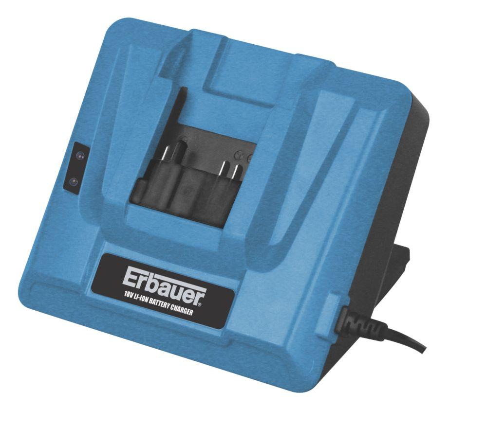 Erbauer ERB-003-CHR 18V Li-Ion 1 Hour Charger