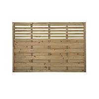 Forest Kyoto Fence Panels 1.8 x 1.2m 3 Pack