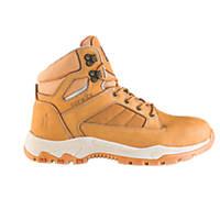 Scruffs Oxide Safety Boots Tan Size 7