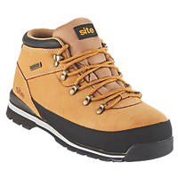 Site Meteorite Waterproof Safety Boots Tan Size 9