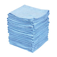 Microfibre Cloth Blue 50 Pack