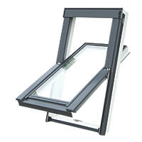 Tyrem Manual Centre-Pivot Roof Window Clear 780 x 980mm