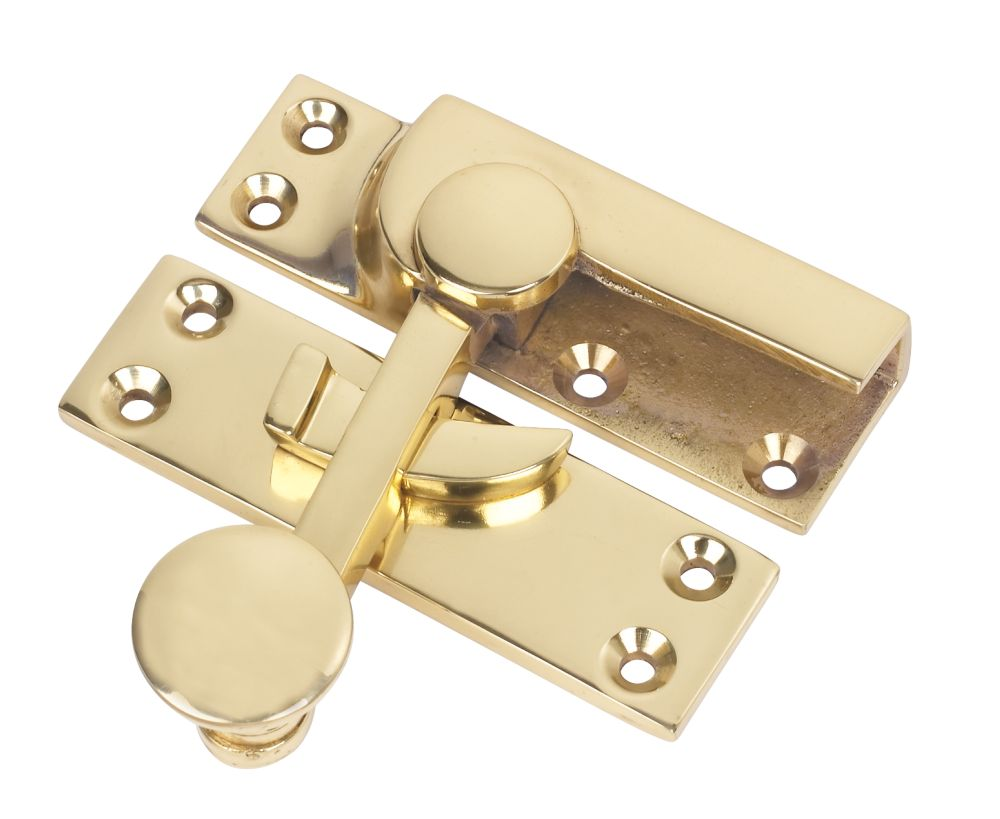 Sash Fastener Polished Brass
