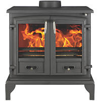 Valor Baltimore Black Solid Fuel Stove