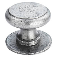 Carlisle Brass Round Centre Door Knob Pewter 75mm