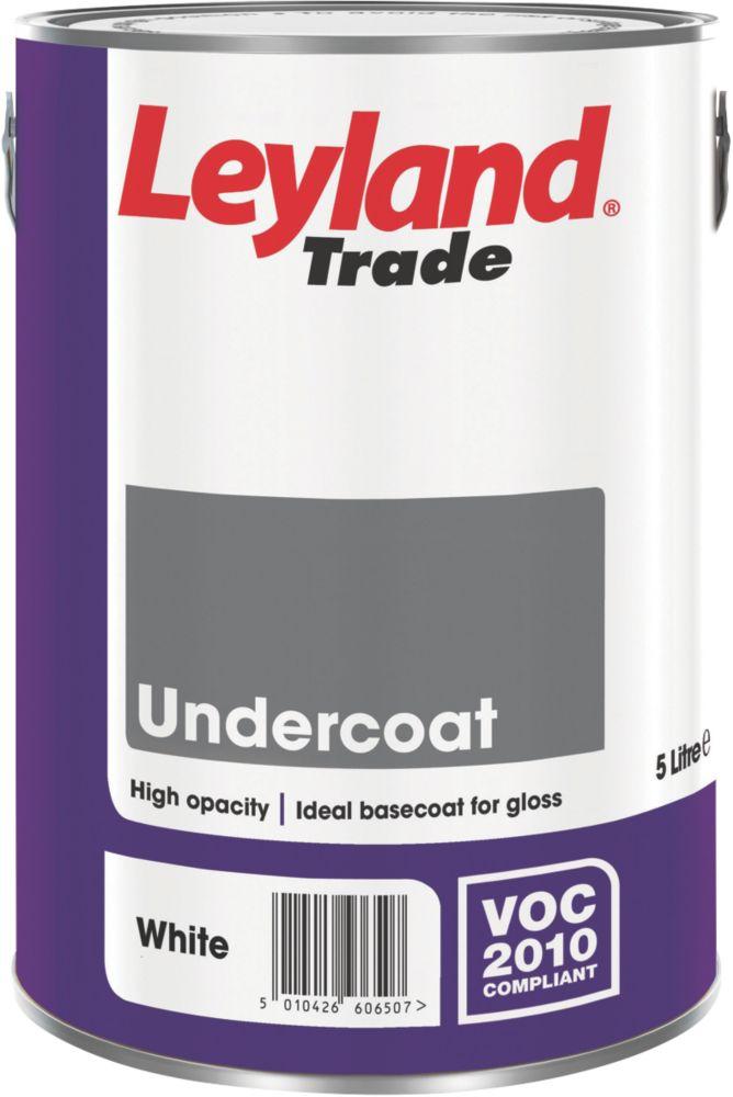 Leyland Undercoat White 5Ltr