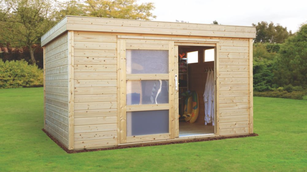 Finnlife Kujo 212 Log Cabin 3.9 x 3 x 2.3m