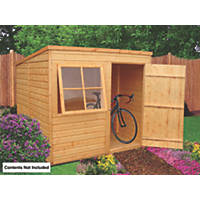 Shire 7' x 7' (Nominal) Pent Shiplap T&G Timber Shed