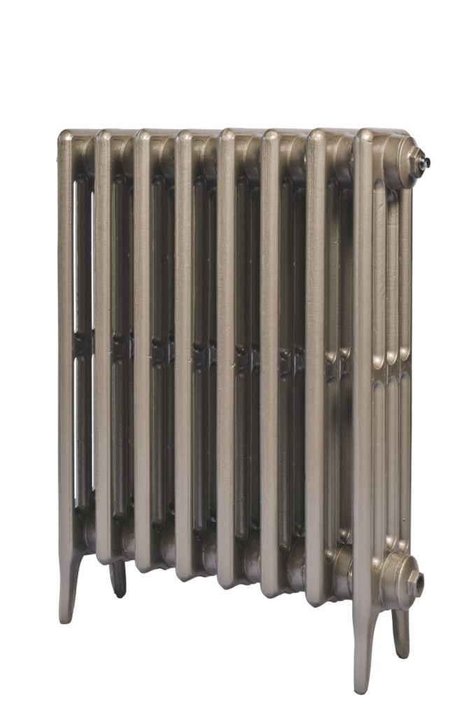 Cast Iron 660 Designer Radiator 4-Column Bronze H: 660 x W: 769mm