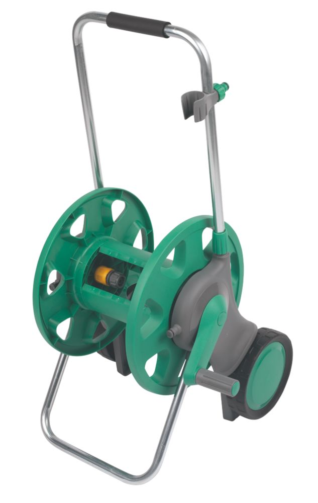 Hozelock Assembled Hose Reel & Cart 60m Capacity