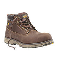 Site Aplite Safety Boots Brown Size 8