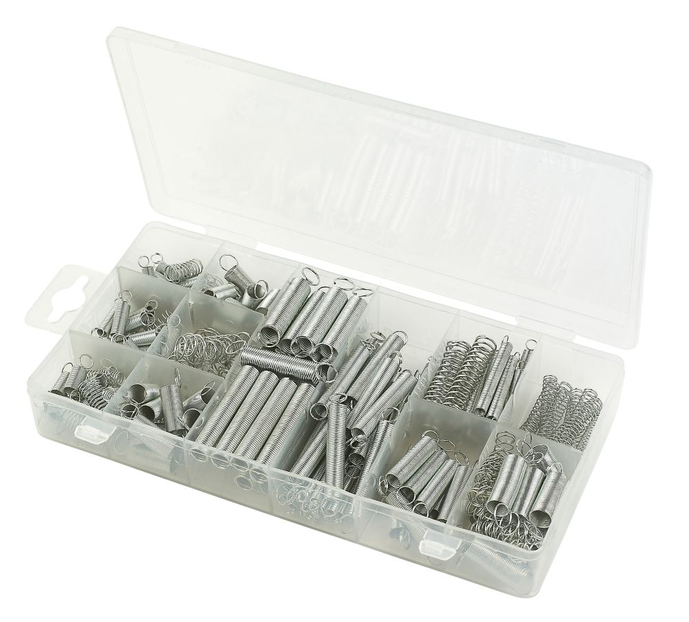 Extension & Compression Spring Assortment 200 Piece Set