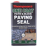 Thompsons One-Coat Patio & Block Paving Seal Clear 5Ltr