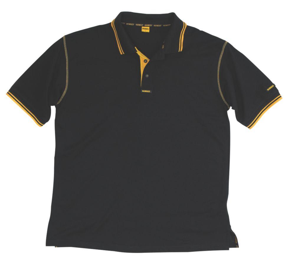 DeWalt Polo Shirt XL Black