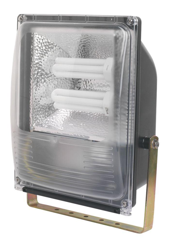 Trac Bulldog CFL 84W Floodlight & Photocell