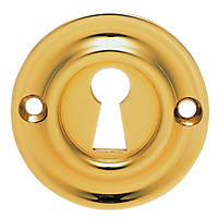 Carlisle Brass Standard Key Escutcheon Stainless Brass 42mm