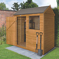 Forest 6' x 4' (Nominal) Apex Overlap Timber Shed