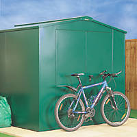 Asgard Gladiator All-Metal Bike Store with Assembly Green 2.3 x 2.2m
