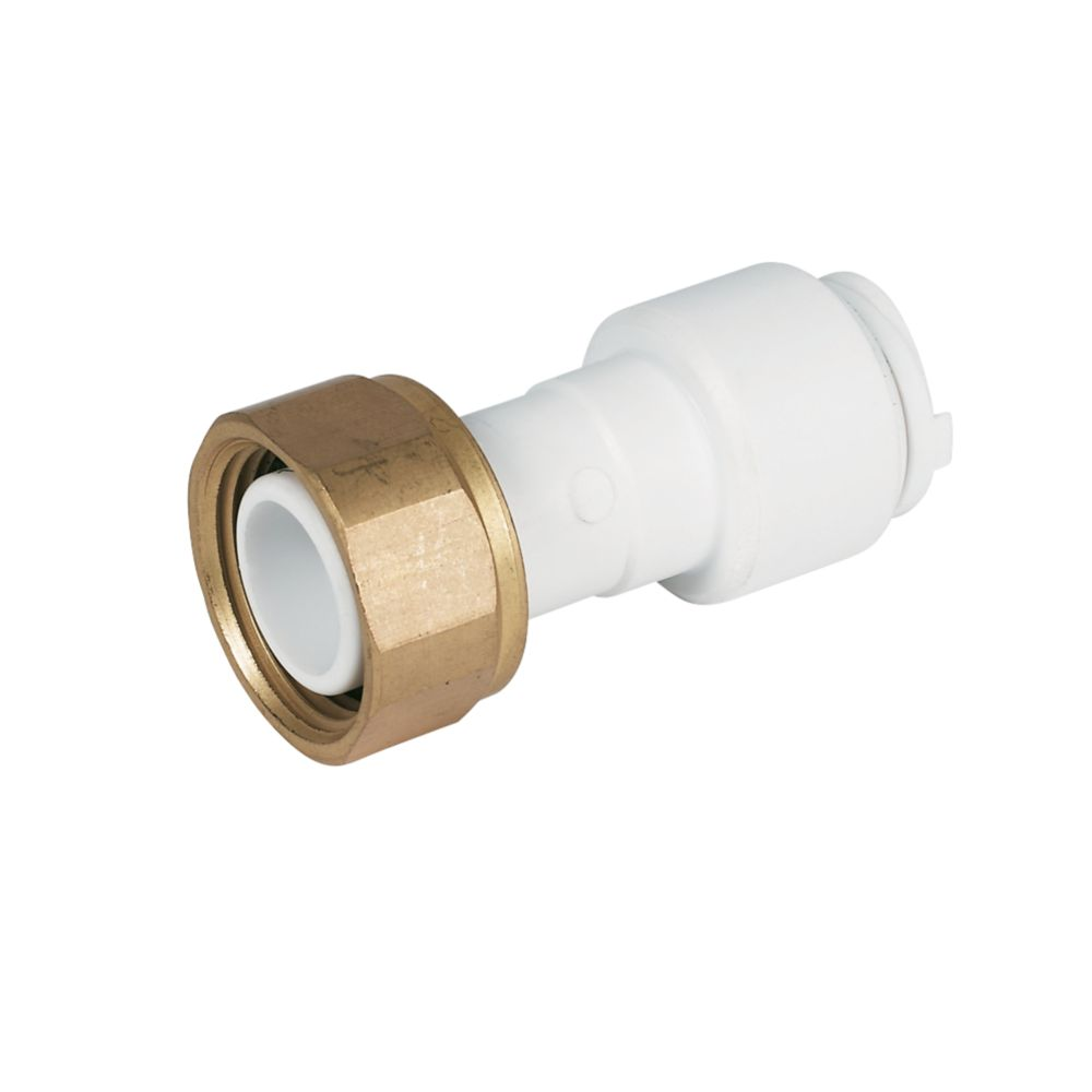 FloPlast Flo-Fit Tap Connector 15mm x ¾""