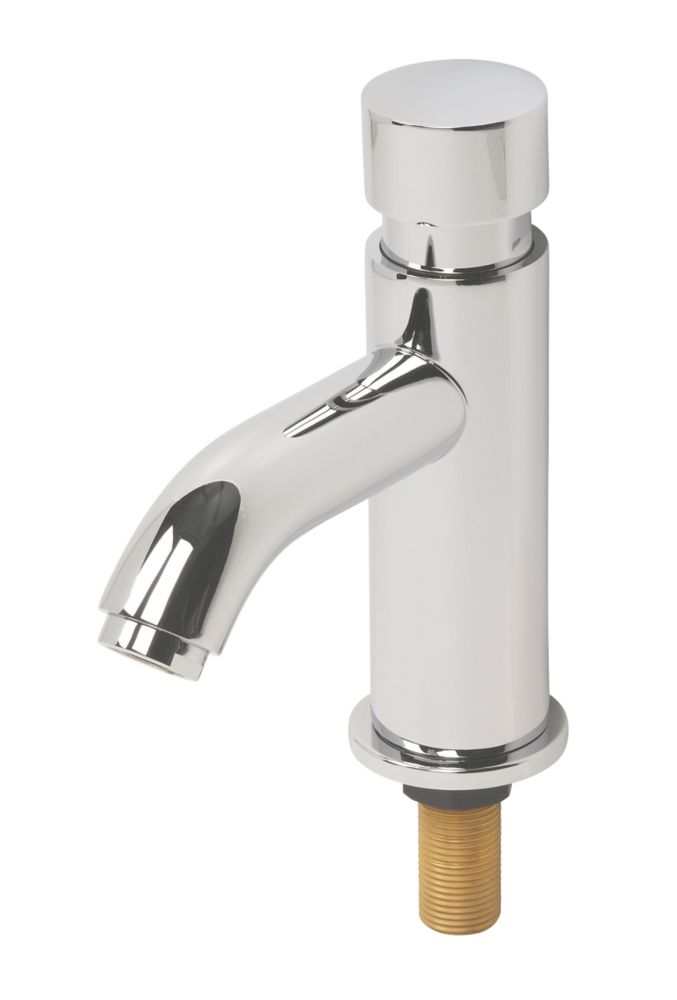 H&C Contemporary Non-Concussive Bathroom Basin Tap