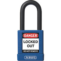Abus Aluminium Keyed-Alike Lock-Off Padlock Blue 19 x 38mm
