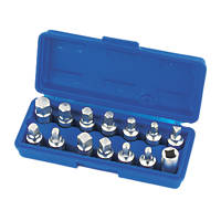 Laser Drain Plug Key Set 14 Pieces