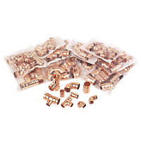 Solder Ring Fittings 125 Pcs