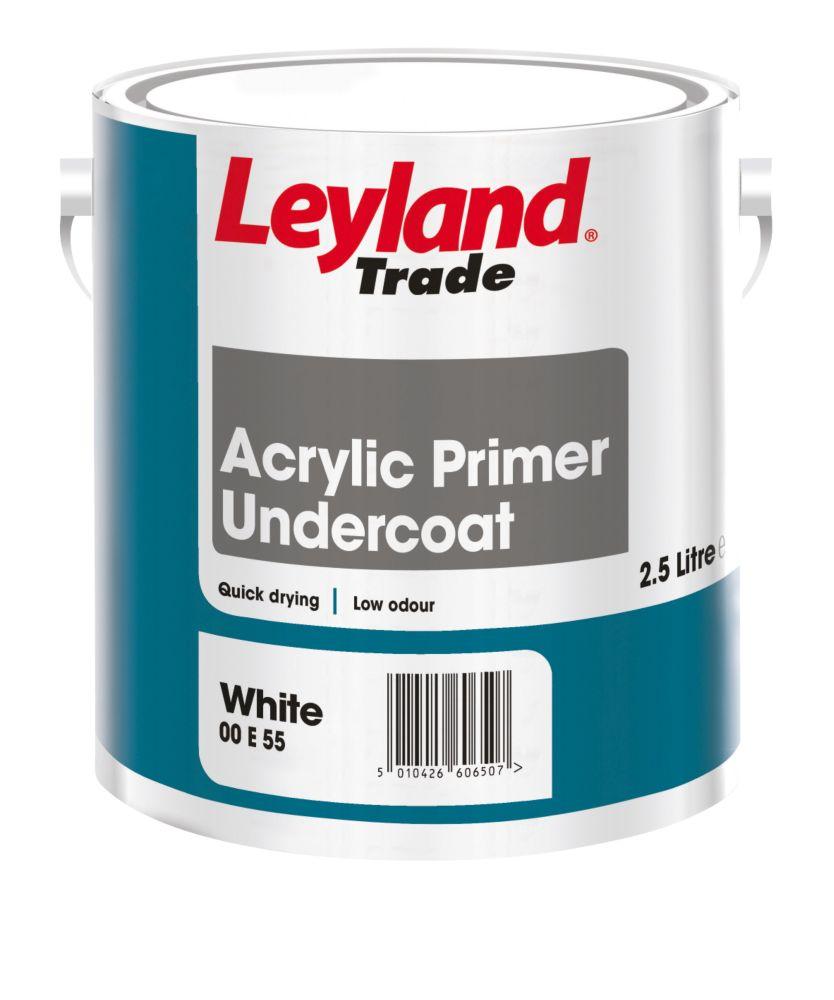 Acrylic Primer Undercoat White 2.5Ltr