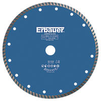 Erbauer Turbo Diamond Tile Blade 230 x 22.23mm