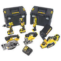 DeWalt DCK655P3T-GB 18V 5.0Ah Li-Ion XR Cordless 6-Piece Power Tool Kit