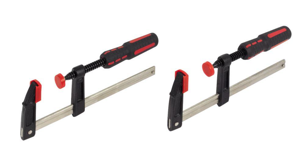 Forge Steel F Clamp Set Pack of 2