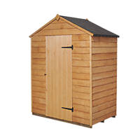 Forest 5' x 3' (Nominal)  Overlap Timber Shed