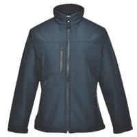 Portwest Charlotte Ladies Soft Shell Jacket Navy X Large